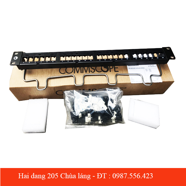 Patch Panel Category 5E AMP serial PN 1479154-2