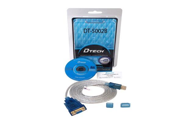 Cáp chuyển đổi USB sang RS232 âm DT5002B