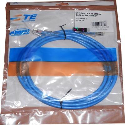 Dây patch cord AMP cat6 dài 2m