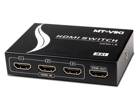 Swicth HDMI 3 ports MT-viki model MT-SW301-M