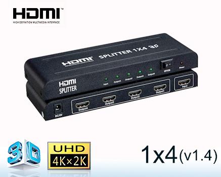 Phân phối Bộ chia HDMI 2 cổng,HDMI 2 cổng EKL HS102,Bộ chia 1 ra 4 cổng , 4 cổng EKL HS104