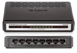 Switch Dlink 8-Port 10/100